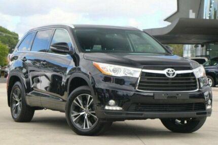 2016 Toyota Kluger Black Sports Automatic Wagon