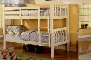 NEW SOLID PINEWOOD BUNKBEDS