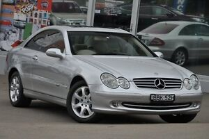 2002 Mercedes-Benz CLK320 C209 Elegance Silver 5 Speed Auto Touchshift Coupe Dee Why Manly Area Preview
