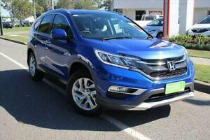 2015 Honda CR-V RM Series II MY16 VTi-S 4WD Blue 5 Speed Sports Automatic Wagon