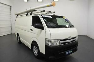 2011 Toyota Hiace KDH201R MY11 Upgrade LWB White Solid 4 Speed Automatic Van Moorabbin Kingston Area Preview