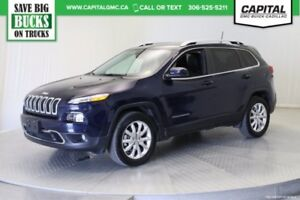 2016 Jeep Cherokee Limited 4WD *Navigation-Heated Seats/Steering