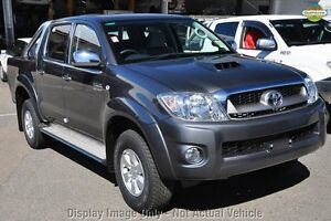 2010 Toyota Hilux KUN26R MY10 SR5 Black 4 Speed Automatic Utility Westminster Stirling Area Preview