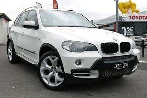 2009 BMW X5 E70 MY10 xDrive30d Steptronic White 6 Speed Sports Automatic Wagon Keysborough Greater Dandenong Preview