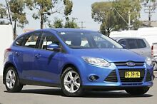 2012 Ford Focus LW MKII Trend PwrShift Winning Blue 6 Speed Sports Automatic Dual Clutch Hatchback Campbelltown Campbelltown Area Preview