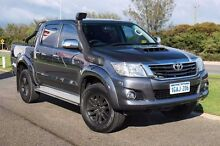 2014 Toyota Hilux KUN26R MY14 SR5 Double Cab Grey 5 Speed Manual Utility Mindarie Wanneroo Area Preview