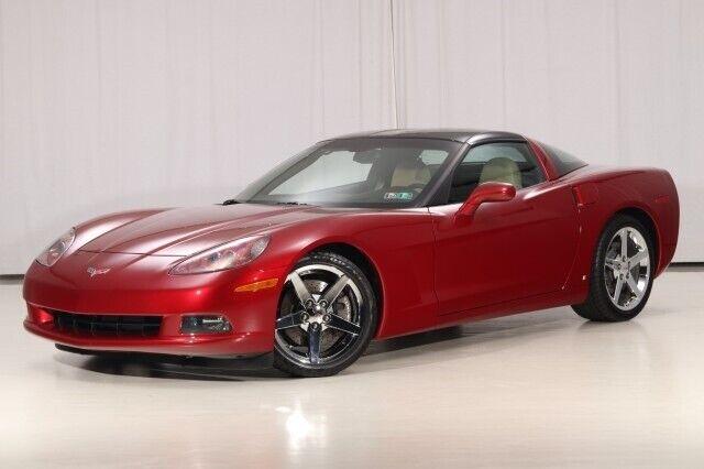 2008 Red Chevrolet Corvette  3LT   C6 Corvette Photo 4