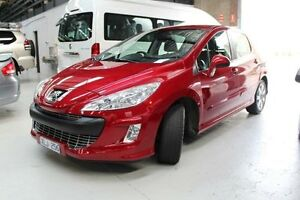 2009 Peugeot 308 T7 XSE Red Sports Automatic Hatchback Knoxfield Knox Area Preview