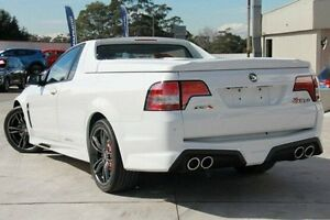 2015 Holden Special Vehicles Maloo GEN-F2 MY16 R8 LSA White 6 Speed Manual Utility Pennant Hills Hornsby Area Preview