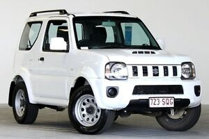 2012 Suzuki Jimny Sierra (4x4) White 5 Speed Manual 4x4 Wagon Coopers Plains Brisbane South West Preview