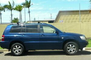 2003 Toyota Kluger MCU28R CVX AWD Blue 5 Speed Automatic Wagon South Gladstone Gladstone City Preview