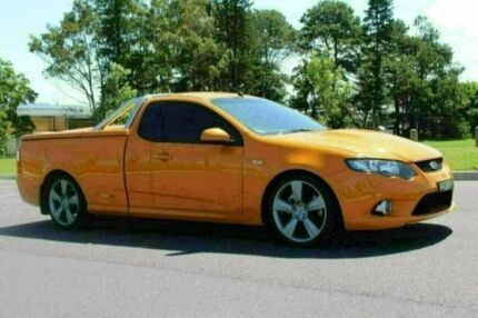 2009 Ford Falcon FG XR8 Orange 6 Speed Auto Seq Sportshift Utility Port Macquarie Port Macquarie City Preview