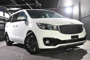 2016 Kia Carnival YP MY16 Platinum Clear White 6 Speed Sports Automatic Wagon Wangara Wanneroo Area Preview