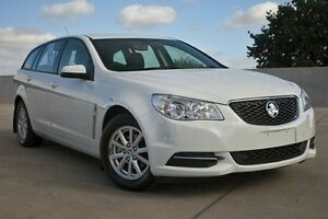 2013 Holden Commodore VF MY14 Evoke Sportwagon White 6 Speed Sports Automatic Wagon Nunawading Whitehorse Area Preview