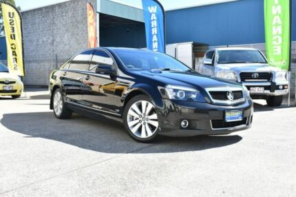 2007 Holden Caprice WM Black 6 Speed Sports Automatic Sedan Capalaba Brisbane South East Preview