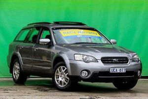 2006 Subaru Outback B4A Safety Pack AWD Grey 4 Speed Sports Automatic Wagon Ringwood East Maroondah Area Preview
