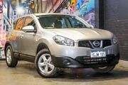 2010 Nissan Dualis J10 MY2009 ST Hatch X-tronic Grey 6 Speed Constant Variable Hatchback Osborne Park Stirling Area Preview