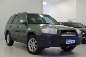 2006 Subaru Forester 79V MY06 X AWD Green 5 Speed Manual Wagon Myaree Melville Area Preview