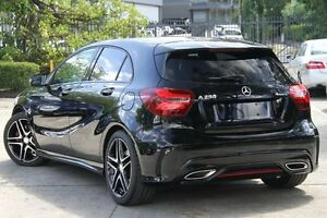 2015 Mercedes-Benz A250 176 MY15 Sport Black 7 Speed Automatic Hatchback Petersham Marrickville Area Preview