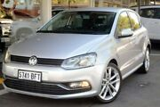2015 Volkswagen Polo 6R MY15 81TSI DSG Comfortline Silver 7 Speed Sports Automatic Dual Clutch Somerton Park Holdfast Bay Preview