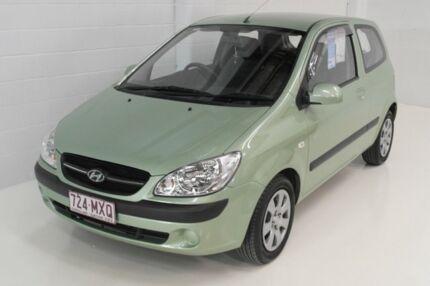2010 Hyundai Getz TB MY09 SX Green 4 Speed Automatic Hatchback Toowoomba Toowoomba City Preview