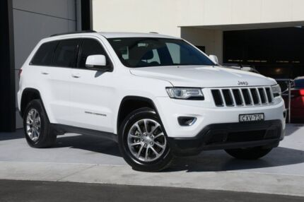 2014 Jeep Grand Cherokee WK MY15 Laredo 4x2 White 8 Speed Sports Automatic Wagon Robina Gold Coast South Preview