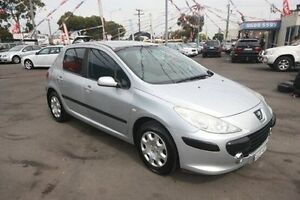 2005 Peugeot 307 T6 XSE Silver 4 Speed Sports Automatic Hatchback Kingsville Maribyrnong Area Preview