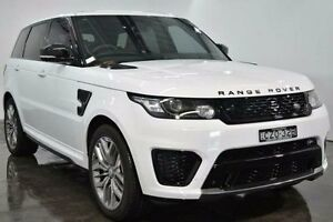 2015 Land Rover Range Rover Sport L494 V8SC White Sports Automatic Wagon Lansvale Liverpool Area Preview