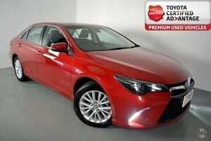 2015 Toyota Camry ASV50R Atara SL Red 6 Speed Sports Automatic Sedan Albion Brisbane North East Preview