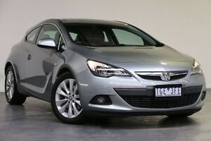 2015 Holden Astra PJ MY15.5 GTC Silver 6 Speed Automatic Hatchback Southbank Melbourne City Preview
