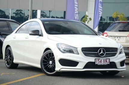 2014 Mercedes-Benz CLA200 CDI C117 DCT White 7 Speed Sports Automatic Dual Clutch Coupe