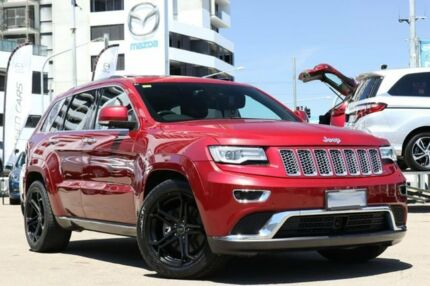 2014 Jeep Grand Cherokee WK MY2014 Summit Red 8 Speed Sports Automatic Wagon