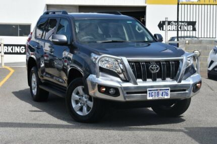 2017 Toyota Landcruiser Prado GDJ150R GXL Graphite 6 Speed Sports Automatic Wagon