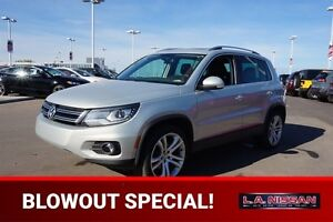 2012 Volkswagen Tiguan AWD HIGHLINE Leather,  Heated Seats,  Blu