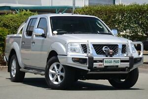 2011 Nissan Navara D40 S5 MY12 ST-X Silver 7 Speed Sports Automatic Utility Acacia Ridge Brisbane South West Preview