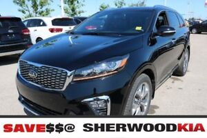 2019 Kia Sorento AWD SX V6 PREMIUM LEATHER SEATS, PANORAMIC SUNR