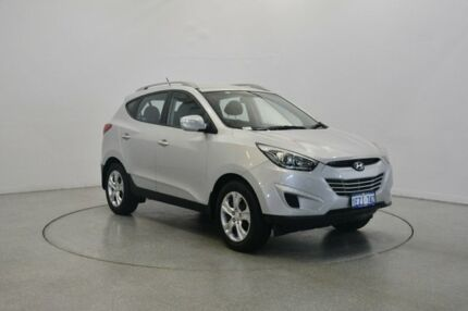2014 Hyundai ix35 LM3 MY14 Active Sleek Silver 6 Speed Sports Automatic Wagon Victoria Park Victoria Park Area Preview