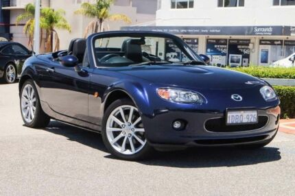 2006 Mazda MX-5 NC30F1 MY07 Roadster Coupe Blue 6 Speed Sports Automatic Hardtop Nedlands Nedlands Area Preview