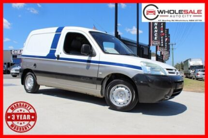 2004 Citroen Berlingo II - M59 Van 3dr Man 5sp 800kg 1.4i White Manual Van
