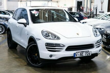 2012 Porsche Cayenne 92A MY13 Diesel Tiptronic White 8 Speed Sports Automatic Wagon Port Melbourne Port Phillip Preview