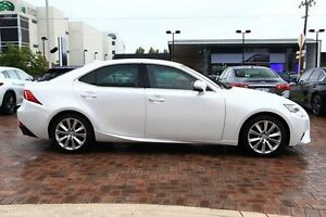 2016 Lexus IS350 GSE31R Luxury White 8 Speed Sports Automatic Sedan Osborne Park Stirling Area Preview