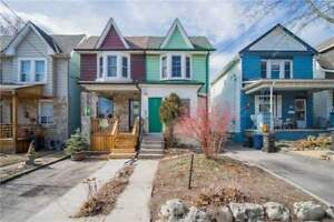 3 Bdrm Semi-Detached Home, Hrdwd Flr T/Out, Full Bsmnt