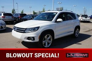 2013 Volkswagen Tiguan AWD HIGHLINE Accident Free,  Navigation (