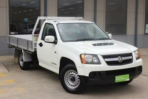 2010 Holden Colorado RC MY10 DX (4x4) White 5 Speed Manual Cab Chassis Blacktown Blacktown Area Preview