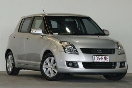 2010 Suzuki Swift EZ Extreme Silver 5 Speed Manual Hatchback Coopers Plains Brisbane South West Preview