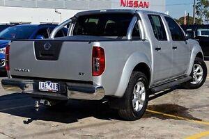 2013 Nissan Navara Silver Manual Utility Bentleigh Glen Eira Area Preview