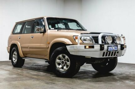 1998 Nissan Patrol GU TI Gold 4 Speed Automatic Wagon Welshpool Canning Area Preview