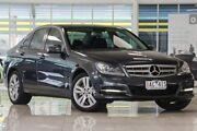 2013 Mercedes-Benz C200 W204 MY13 Elegance 7G-Tronic + Grey 7 Speed Sports Automatic Sedan Doveton Casey Area Preview