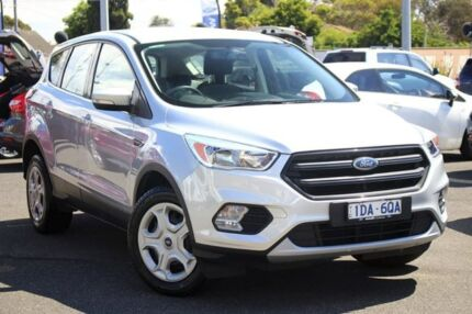 2016 Ford Escape ZG Ambiente 2WD Moondust Silver 6 Speed Sports Automatic Wagon