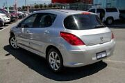 2009 Peugeot 308 XSE HDI Silver 6 Speed Automatic Hatchback Wangara Wanneroo Area Preview